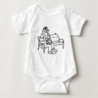 davholle out to stud baby bodysuit