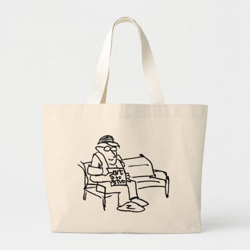davholle out to stud canvas bag