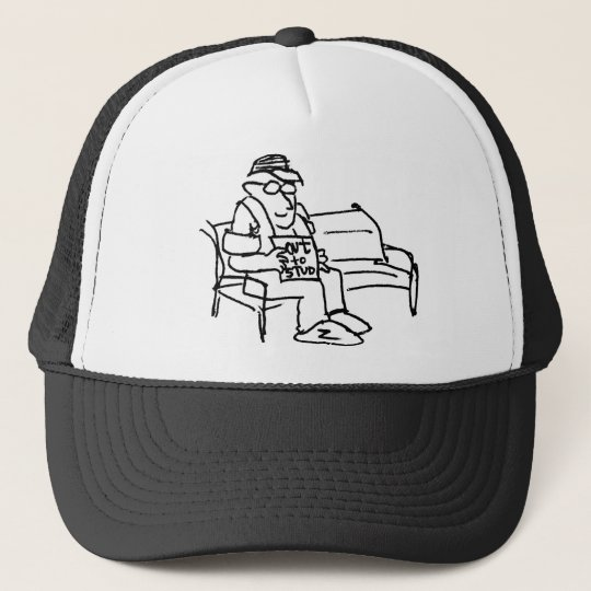 davholle out to stud trucker hat