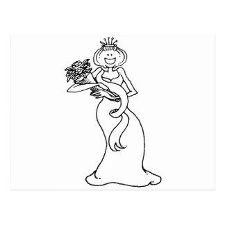 davholle queen postcard