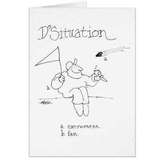 davholle situation excrement fan card