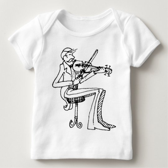 davholle violinist baby T-Shirt