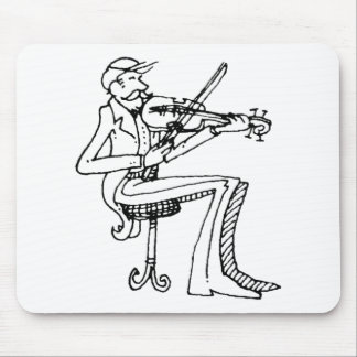 davholle violinist mouse pad