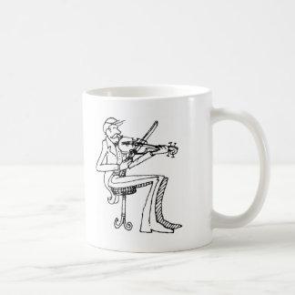 davholle violinist mug