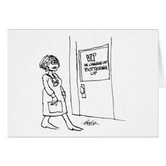 davholle vp buttering up greeting card
