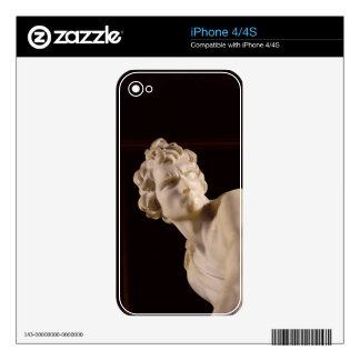 David, 1623-24 (marble) (detail) decals for the iPhone 4