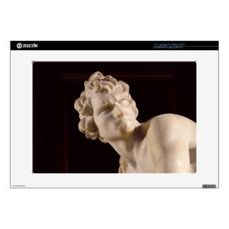David, 1623-24 (marble) (detail) skin for laptop