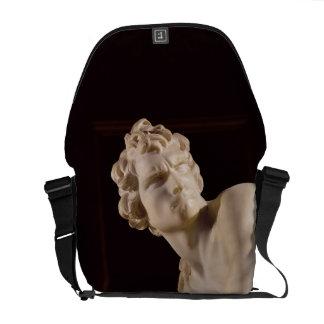 David, 1623-24 (mármol) (detalle) bolsas de mensajería