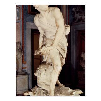 David, 1623-24 tarjeta postal