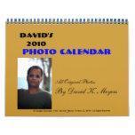 David 2010, calendario de la foto