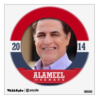 DAVID ALAMEEL CAMPAIGN ROOM STICKERS