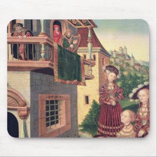 David and Bathsheba, 1528 Mouse Pad