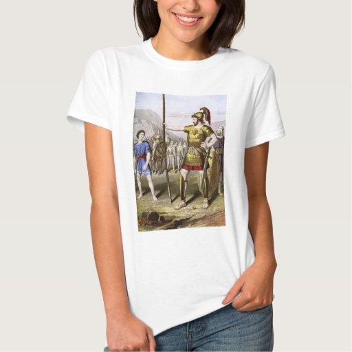 David and Goliath Camisas