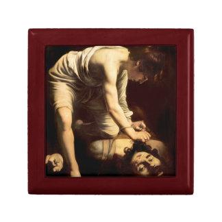 David and Goliath - Caravaggio c.1610 Gift Box