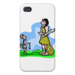 David and Goliath Christian artwork iPhone 4 Cover