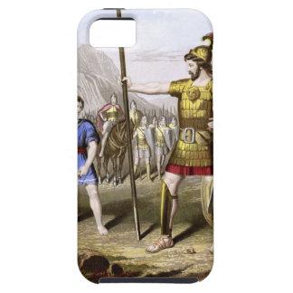 David and Goliath iPhone 5 Case-Mate Cárcasa