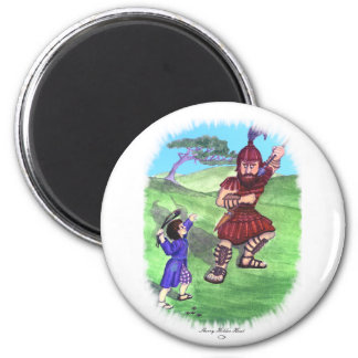 DAVID AND GOLIATH MAGNET