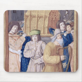 David and the Ark of the Covenant Mouse Pad