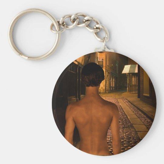David as Young Sherlock Holmes Key Chain