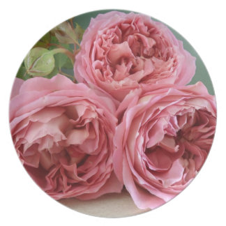 David Austin English Rose Heritage Plate Mother's