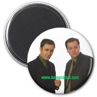 David Beeler and Tom Konkle, www.daveandtom.com Fridge Magnet