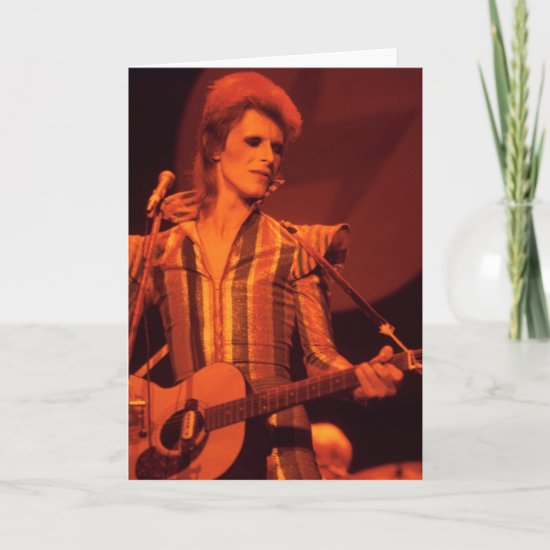 David Bowie | 1973 Final Show of Ziggy Stardust Card