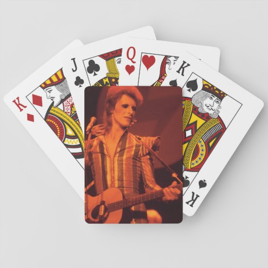 David Bowie | 1973 Final Show of Ziggy Stardust Playing Cards
