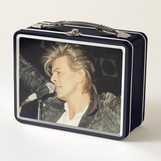 David Bowie | 1986 Metal Lunch Box