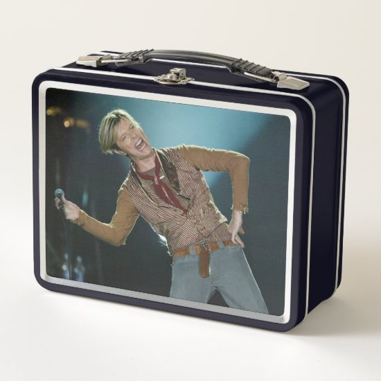 David Bowie | At Manchester, England Metal Lunch Box