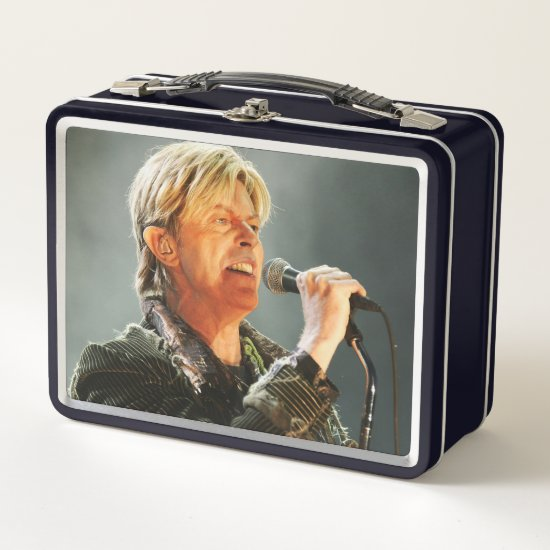 David Bowie | At The Nokia Isle of Wight Festival Metal Lunch Box