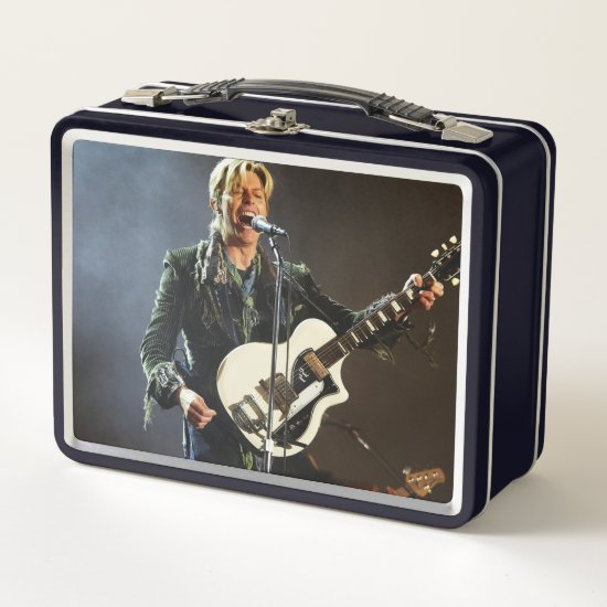 David Bowie | Isle of Wight Festival Metal Lunch Box