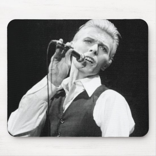 David Bowie | Madison Square Garden Mouse Pad