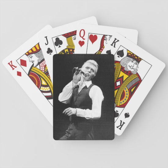 David Bowie | Madison Square Garden Playing Cards