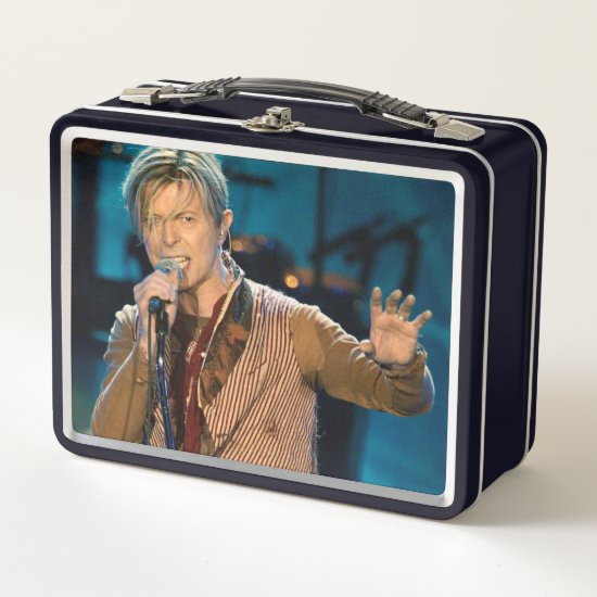 David Bowie | Manchester England Metal Lunch Box