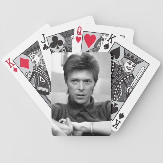 David Bowie | Mayfair House Interview Bicycle Playing Cards