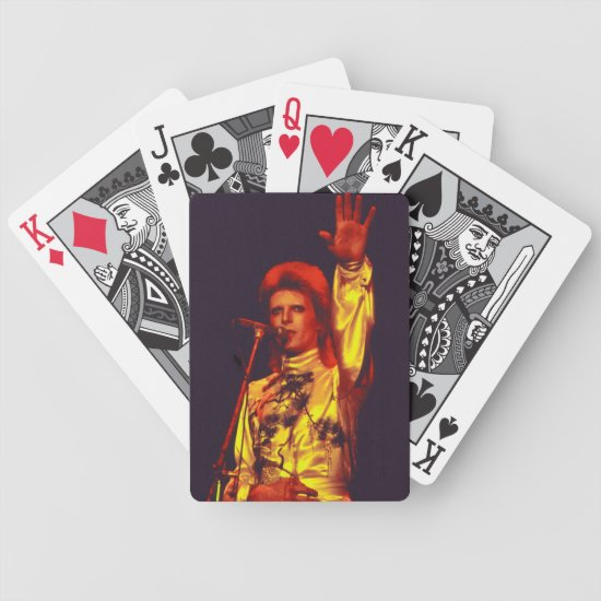 David Bowie  | Ziggy Stardust | 1973 Bicycle Playing Cards