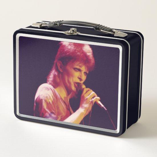 David Bowie | Ziggy Stardust | 1973 Metal Lunch Box
