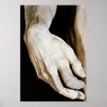 David by Michelangelo Buonarroti , 1501-04 Poster