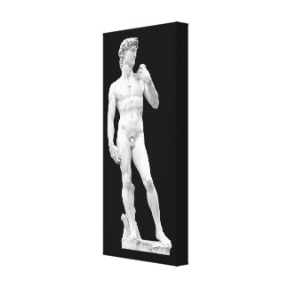 David by Michelangelo Wrapped Canvas Canvas Prints