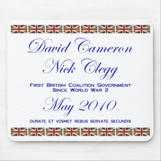 David Cameron ~ Nick Clegg ~ Coalition Mouse Pads