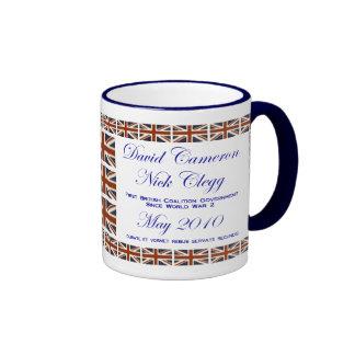 David Cameron ~ Nick Clegg ~ Coalition Coffee Mugs