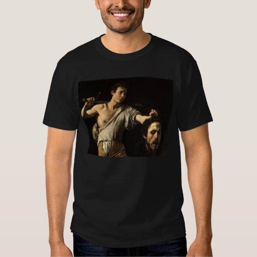 David con la cabeza de Goliat, Caravaggio Remeras