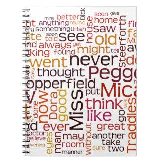 David Copperfield Spiral Note Book