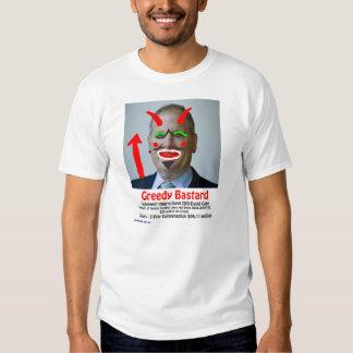 David Cote - Greedy Bastard T-shirt