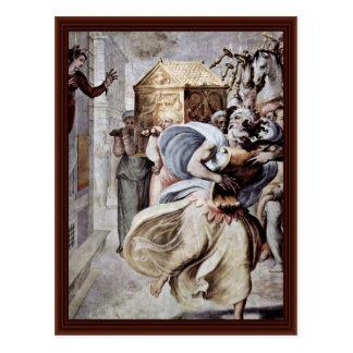 David Dancing Before The Holy Ark (Ark) Postcard