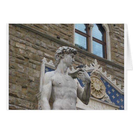 David de Miguel Ángel, Florencia Italia Tarjetón