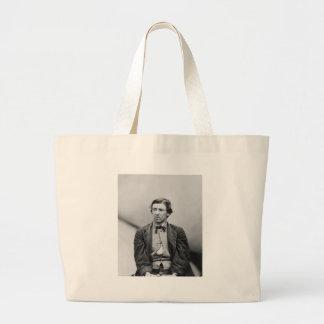 David E. Herold Lincoln Assassination Conspirator Large Tote Bag