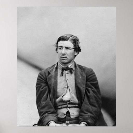David E. Herold Lincoln Assassination Conspirator Print