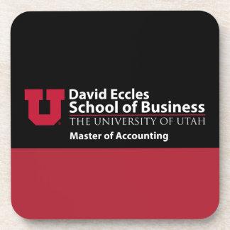 David Eccles - amo de la contabilidad Posavasos De Bebida