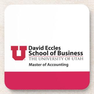 David Eccles - amo de la contabilidad Posavasos De Bebidas